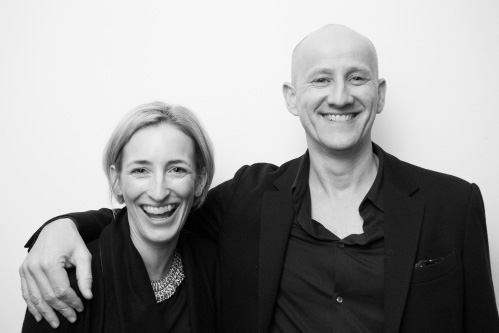 Founders Serge Dive and Sarah Ball