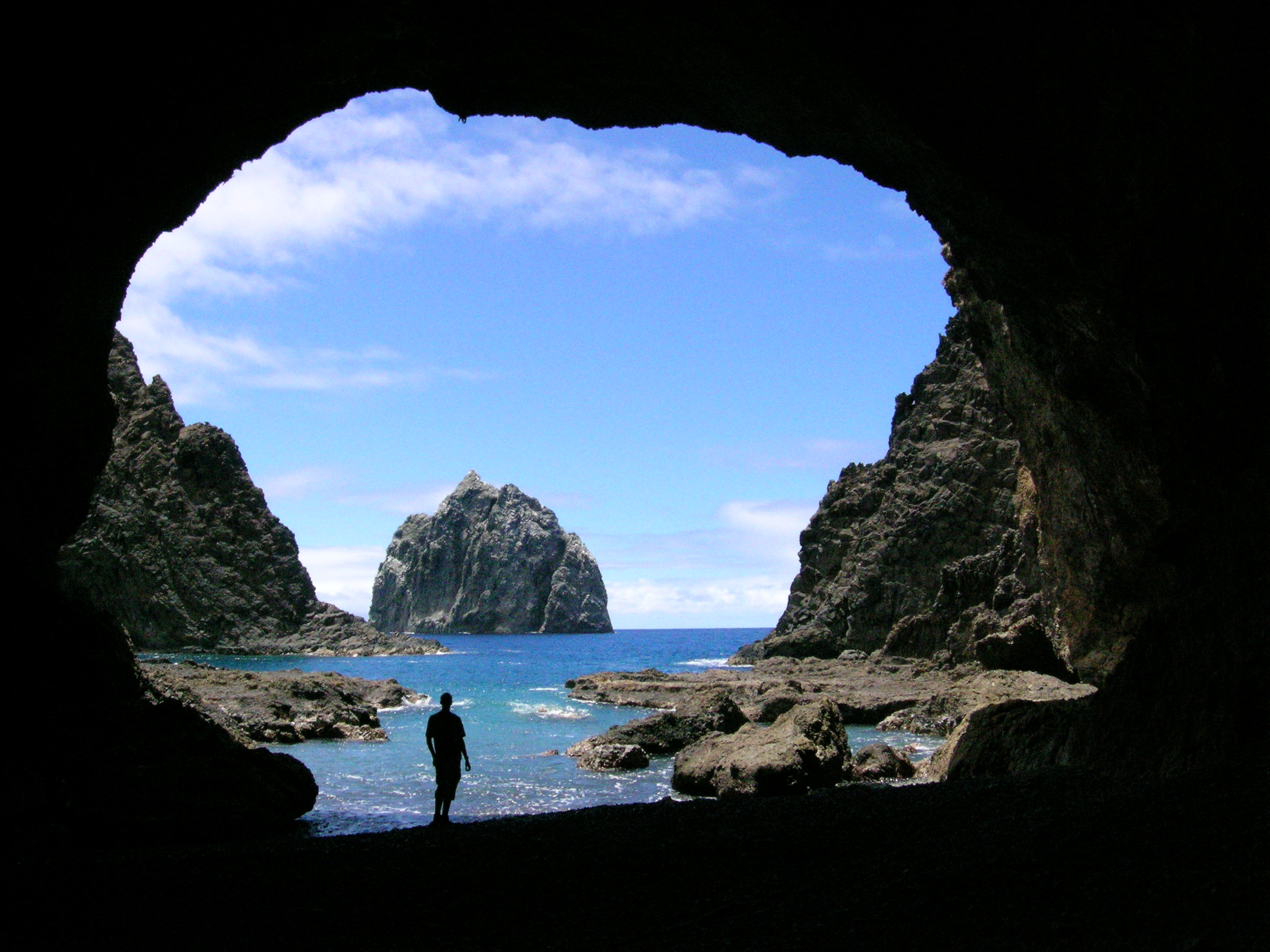 Black Rocks cave by Ed Thorpe for St. Helena Tourism