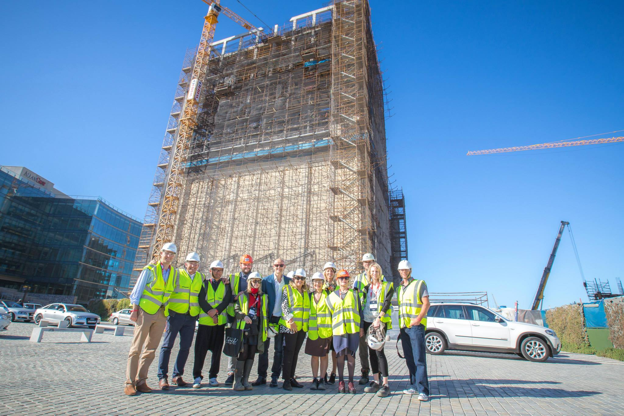 We Are Africa's press delegates get a first look at The Silo back in May 2015