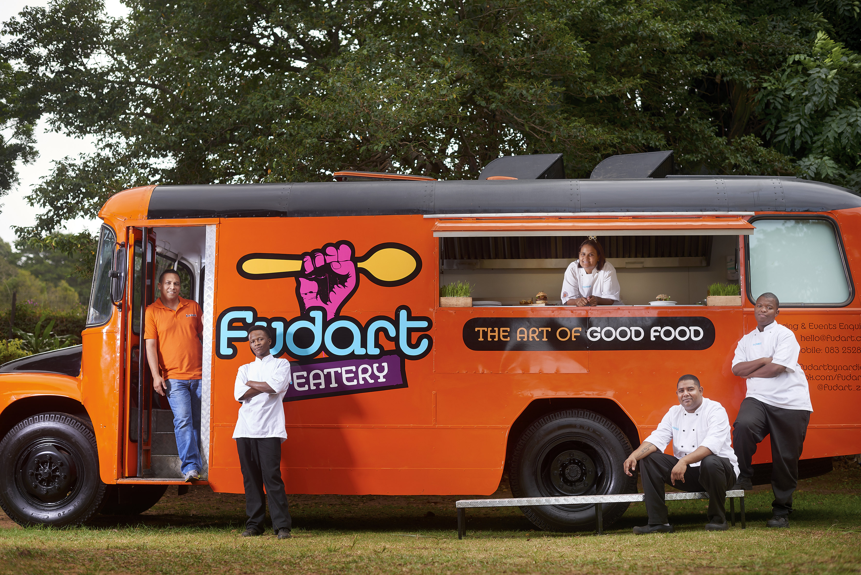 The team at FudArt STREATERY