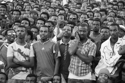 Aida Muluneh. Football in Addis, 2013