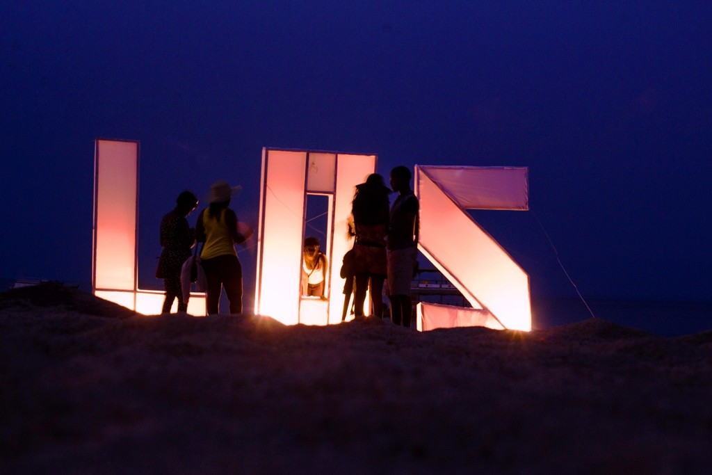 Revellers at Malawi's Lake Of Stars. Photo by Njabulo Dzonzi