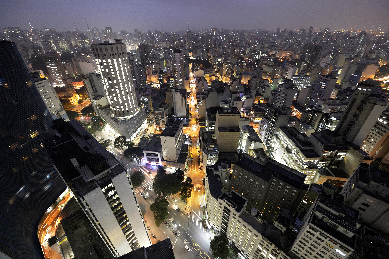 São Paulo cityscape at night