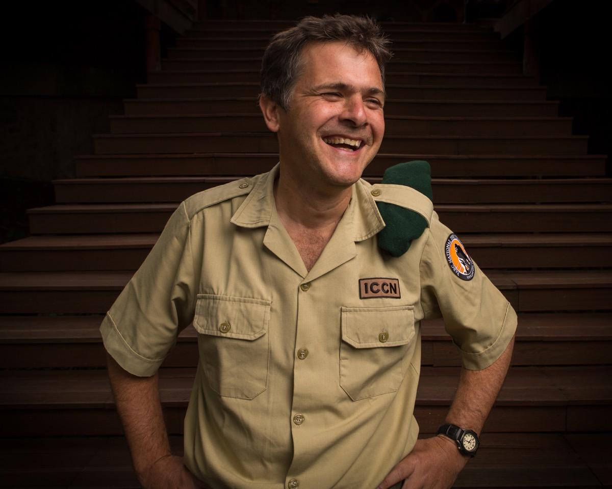 Virunga Park Director, Emmanuel de Merode