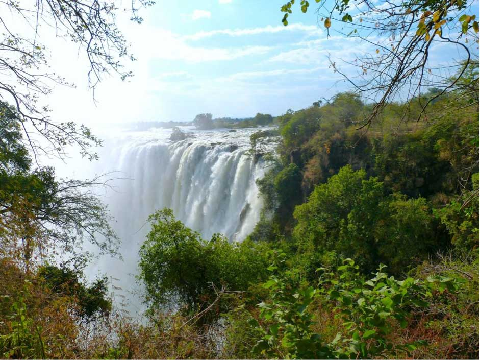 Victoria Falls, a stop on CroisiEurope's cruise of Southern Africa