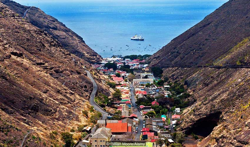 View of St Helena