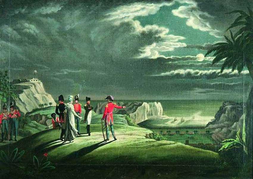 Napoleon Bonaparte in St Helena