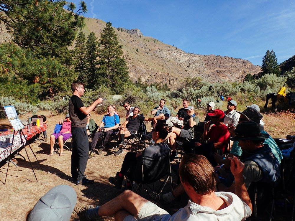 'Un-conference' held in the wilderness at PURE Pursuits 2017