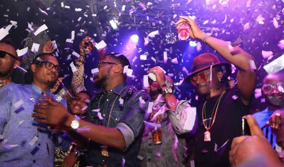 Afrobeats-style nightlife in Lagos