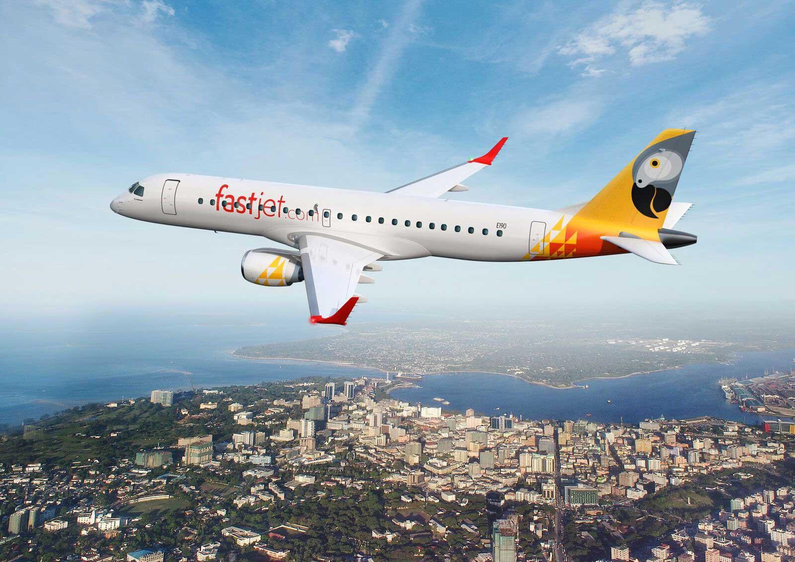 Resultado de imagen para Fastjet moçambique