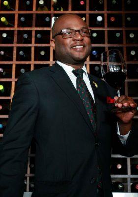 Sommelier Gregory Mutambe