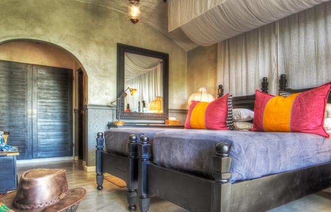 Bedroom at Chobe Game Lodge