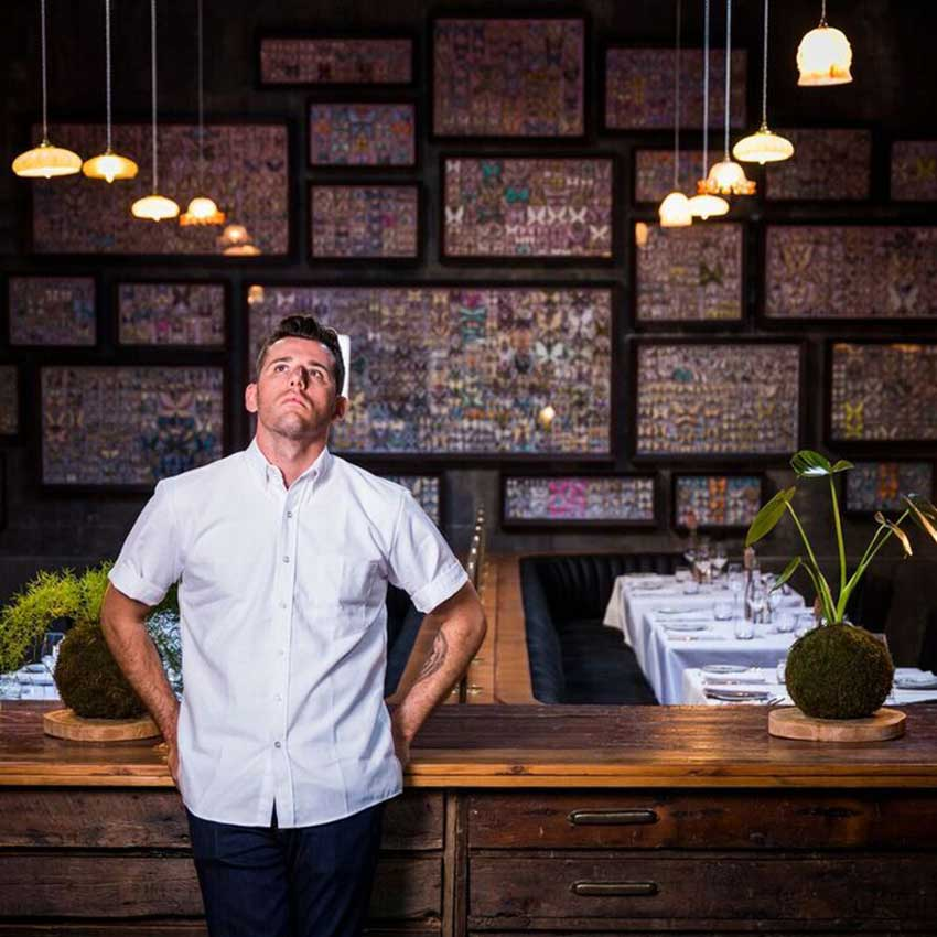 Chef Wesley Randles from The Shortmarket Club – courtesy of the Shortmarket Club