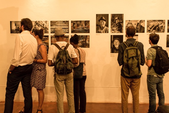 """""""O que viu, o que vê"""" exhibition opening at the Kulungwana in 2016"""