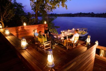 Ila Safari Lodge's Boma – courtesy of Green Safaris
