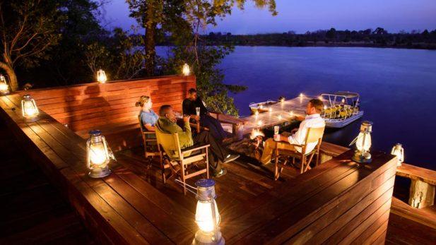 Ila Safari Lodge's Boma – courtesy of Green Safaris