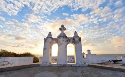 The house of the silversmiths: the star-shaped Fort of São Joãovia – via the Sand in my Suitcase