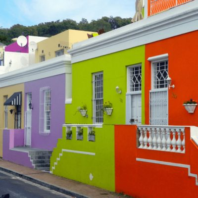 Colourful Cape Town abodes