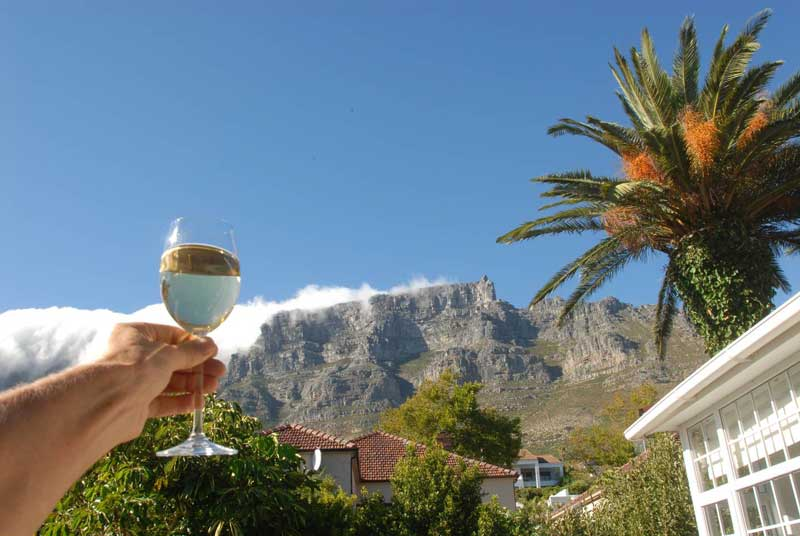 Airbnb property in central Cape Town