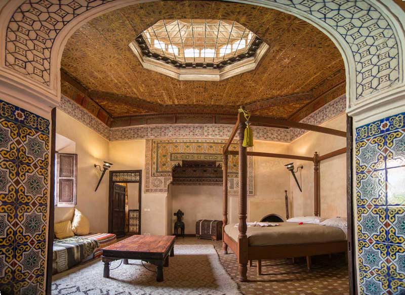 Aibnb-advertised Cosy Palace property in Marrakech