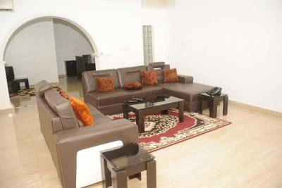 An Airbnb-advertised penthouse in Lekki, Nigeria