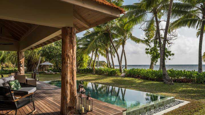 Desroches Suite at Four Seasons Seychelles –photos are courtesy of Four Seasons Resort Seychelles