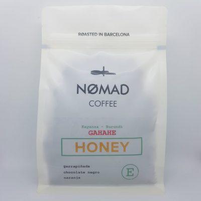 Single-origin coffee beans from Burundi at Nomad, Barcelona