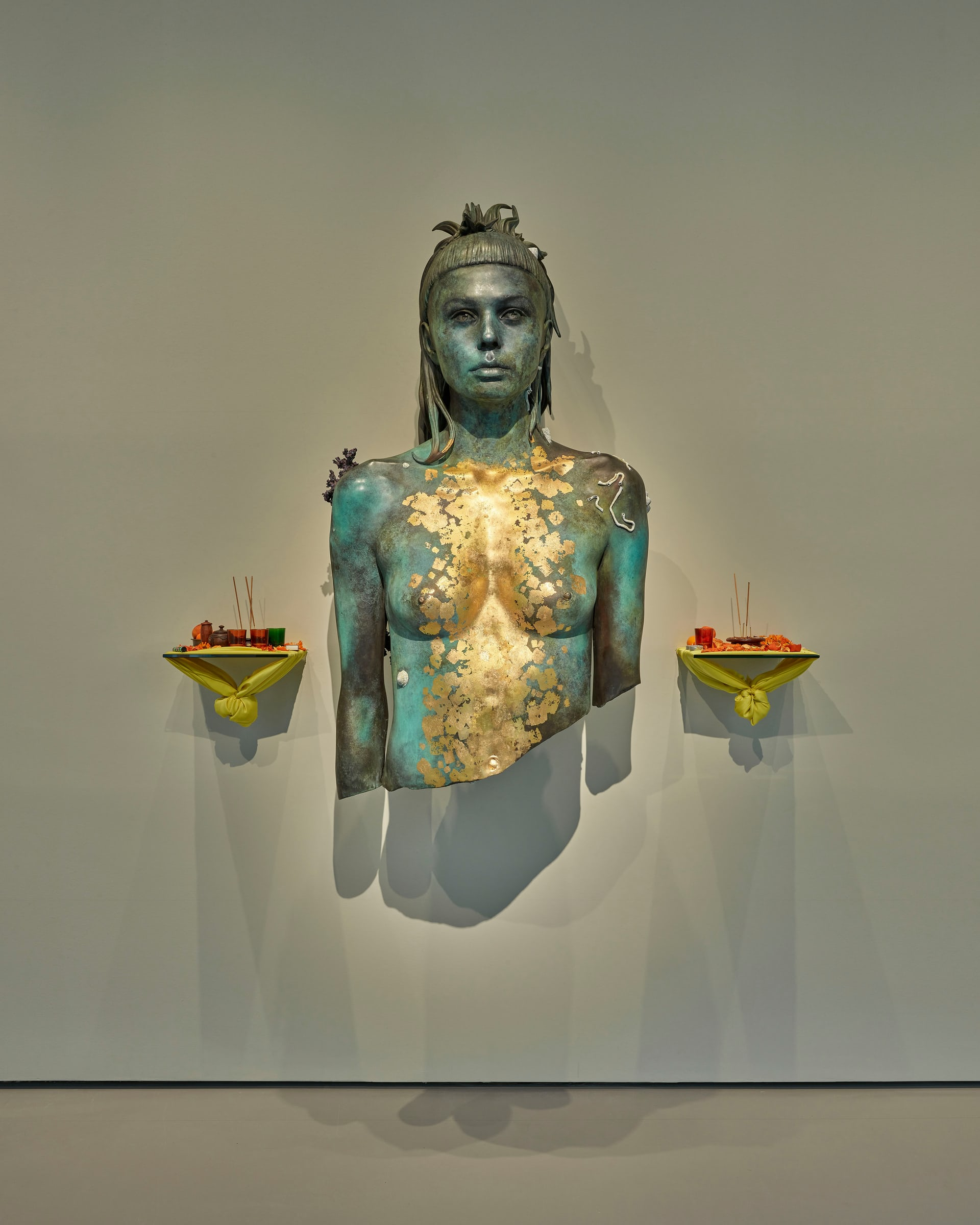 Aspect of Katie Ishtar ¥o-landi. Photograph: Prudence Cuming Associates – courtesy of Damien Hirst and Science Ltd, via: The Guardian
