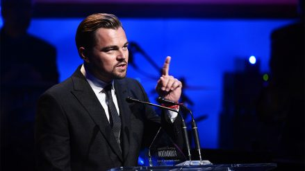 Leonardo DiCaprio Foundation – by Michael Buckner / via Variety