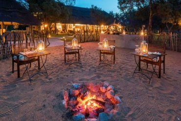 Tintswalo Safari Lodge campfire – courtesy of Tintswalo Safari Lodge