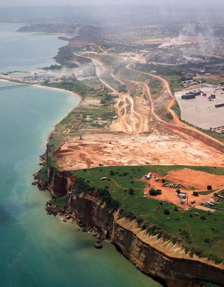 Angolan coastline – via Pinterest