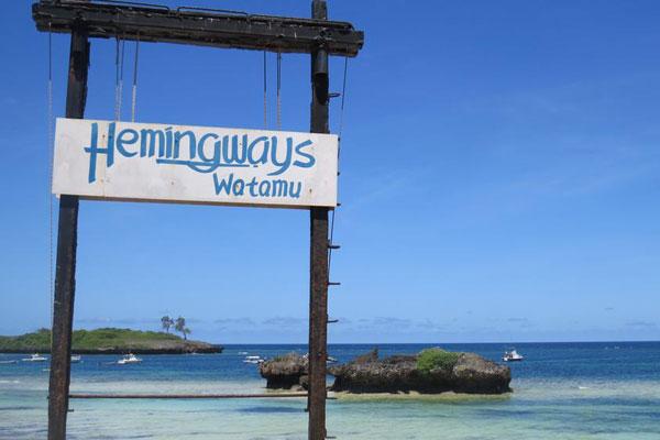 Hemingway's Watamu: the perfect spot for deep-sea fishing –via Daily Nation