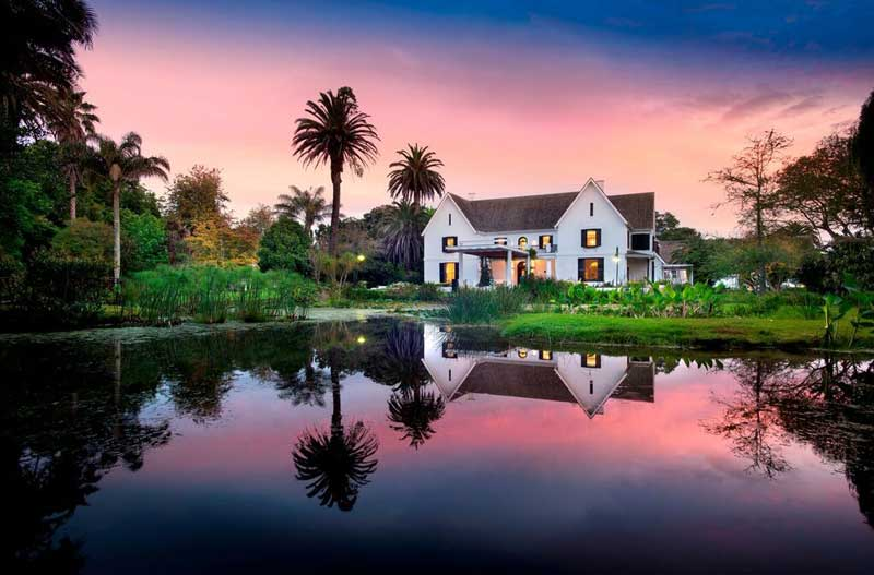 The Manor House – photos are courtesy of Fancourt