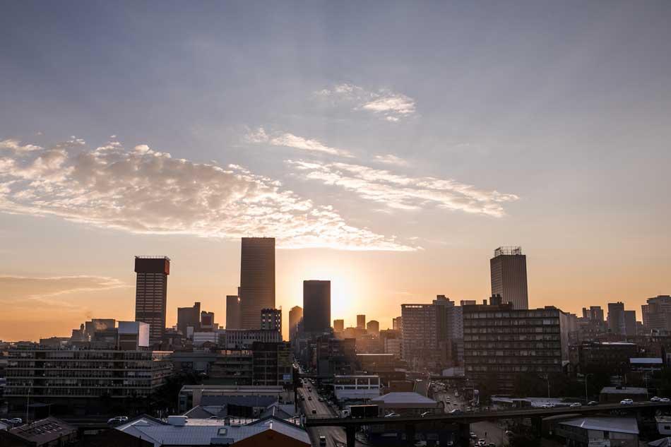 Johannesburg's skyline